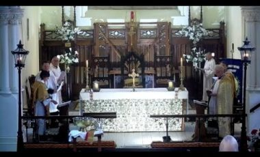 St Matthew's Evensong – Maundy Thursday 2021