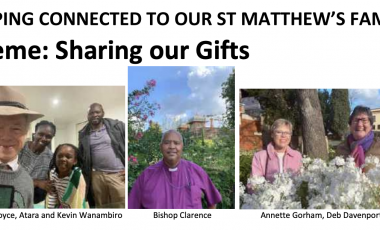 St. Matthew's Keeping Connected Newsletter No. 13