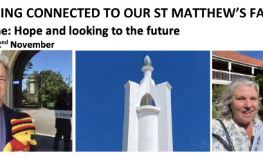 St. Matthew's Keeping Connected Newsletter No. 19