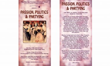 Passion, Politics and Partying