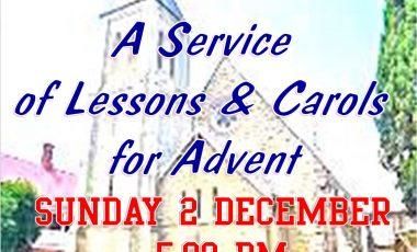 St Mathew's Carol Services