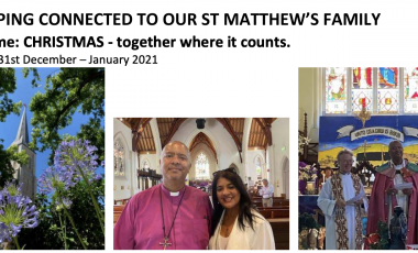 St. Matthew's Keeping Connected Newsletter No. 21