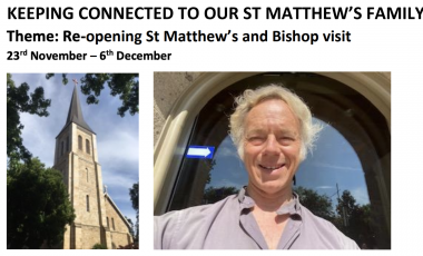 St. Matthew's Keeping Connected Newsletter No. 20