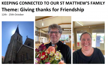 St. Matthew's Keeping Connected Newsletter No. 17