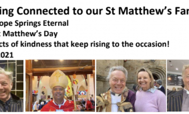 St. Matthew's Keeping Connected Newsletter No. 32