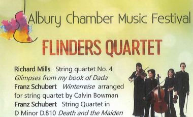 Launch of the Albury Chamber Music Festival – Concert 22nd September