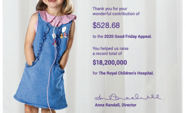 Good Friday Appeal – Thank You