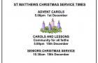 Christmas Service Times 2019