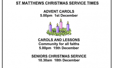 Christmas Service Times 2019